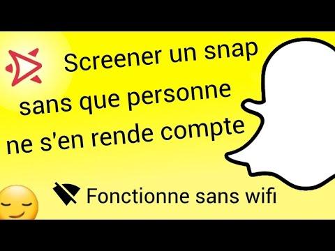 Faire une capture d'écran snapchat sans notification - Sans se déconnecter - Android