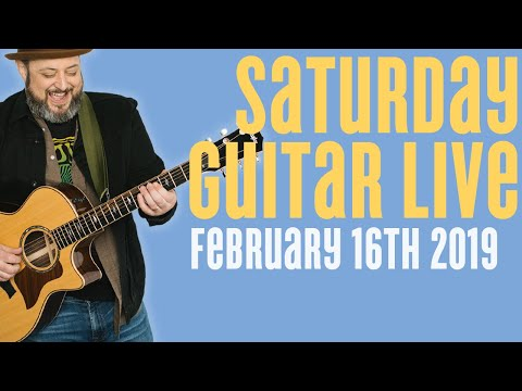 Livestream Guitar Saturday