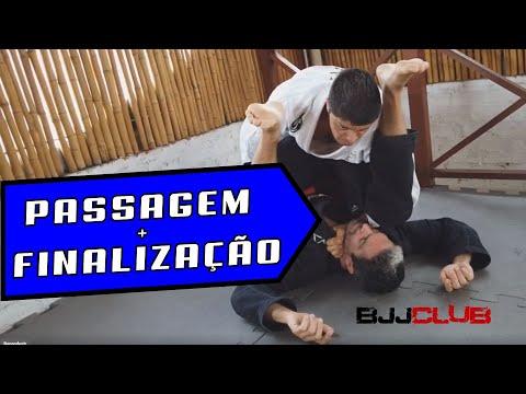 🆕 Passagem de Guarda + Finalizacão  🏼👉 Jiu Jitsu - BJJCLUB