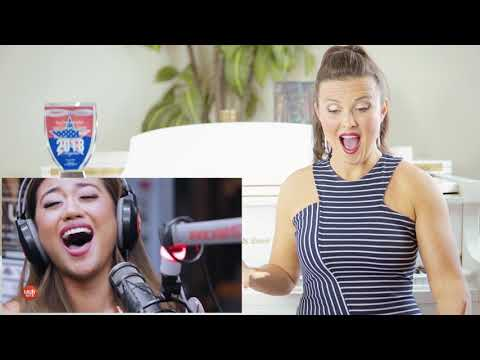 Vocal Coach Reacts to Morissette Amon - Never Enough on Wish 1075 Bus
