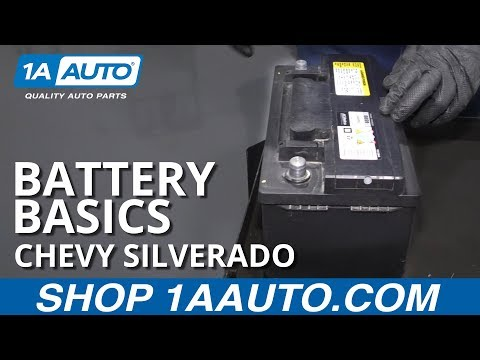 How to Replace Battery 14-19 Chevy Silverado