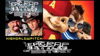 Rick Grimes vs Walter White. Epic Rap Battles of History Season 3. CHIPMUNKS