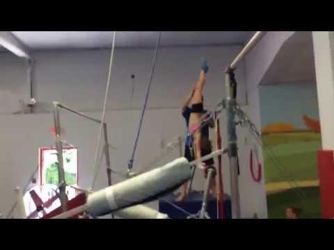 Kristina Lantz - Level 9 - Age 11 - Shaposh on bars
