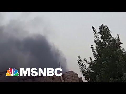 Taliban Seizes Afghan Cities As U.S. Exits   MSNBC
