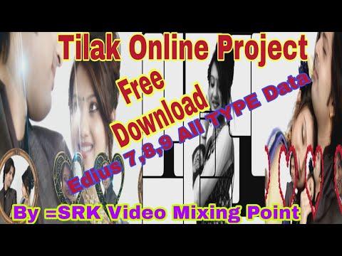 Edius 7,8,9 wedding project,vidhi song...