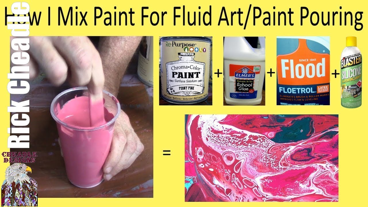 Mix Oil Paint With