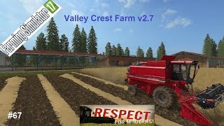 "[""Landwirtschaftssimulator 2017 Valley Crest Farm v2.7"", ""Valley Crest Farm v2.7"", ""Obiwan"", ""Cows"", ""Pig"", ""Ls17""]"