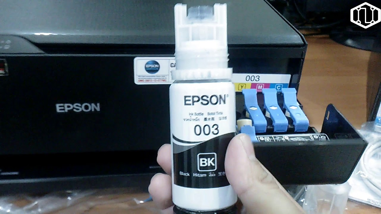 How to Fill the Ink Tanks EPSON L3110