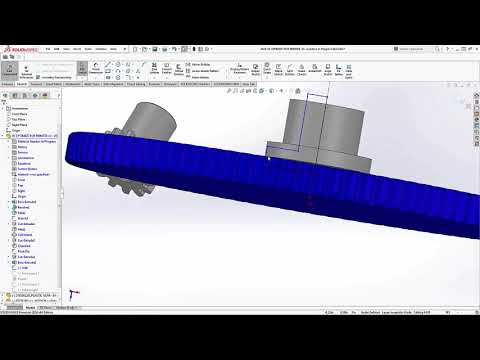 SOLIDWORKS - 3D Printing a Gearbox