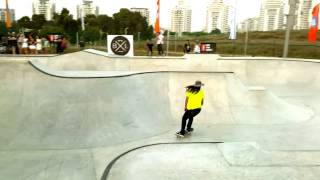 lifeblood skateboards at netanya israel skatepark