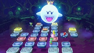 Mario Party 10 Haunted Trail All Mini Games All Boss Battles (Mario Party 10 - All Minigames)