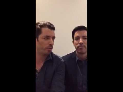 Property Brothers 100th episode LIVE chat!! Bam!