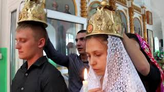 Венчание Алексея и Маргариты. с. Лосево