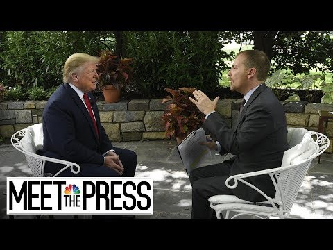 President Trump's Full, Unedited Interview With Meet The Pre