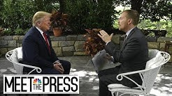 President Trump's Full, Unedited Interview With Meet The Press    NBC News