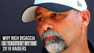 "Raiders Special Teams Coordinator Rich Bisaccia ""excited"" about unit"
