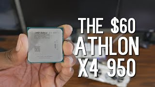 Athlon X4 950 vs Pentium G4600 vs Ryzen 3 1200 - Can AM4 & Zen save Excavator?
