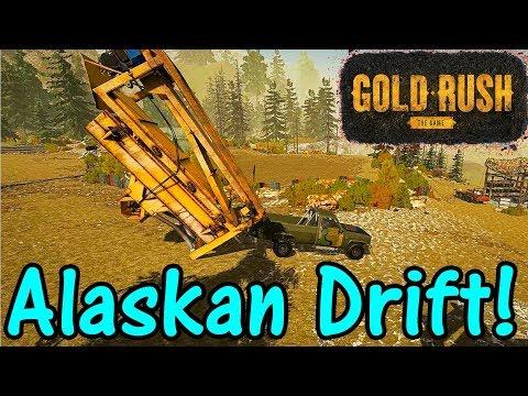 Let's Play Gold Rush The Game #68: Alaskan Drift!