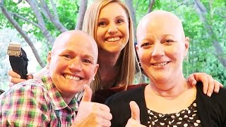 SISTERS STICK IT TO CANCER