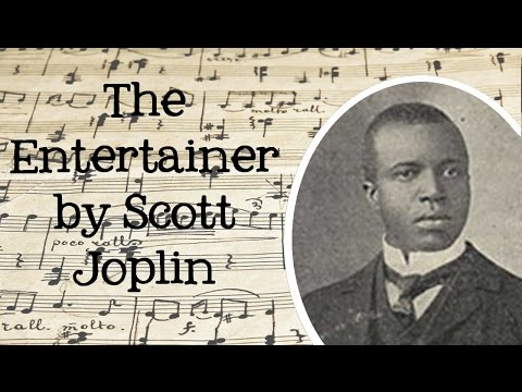 The Entertainer by Scott Joplin: Classical Music for Children - FreeSchool Radio