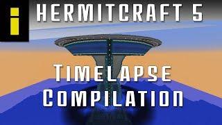 Minecraft HermitCraft S5 | Timelapse Compilation