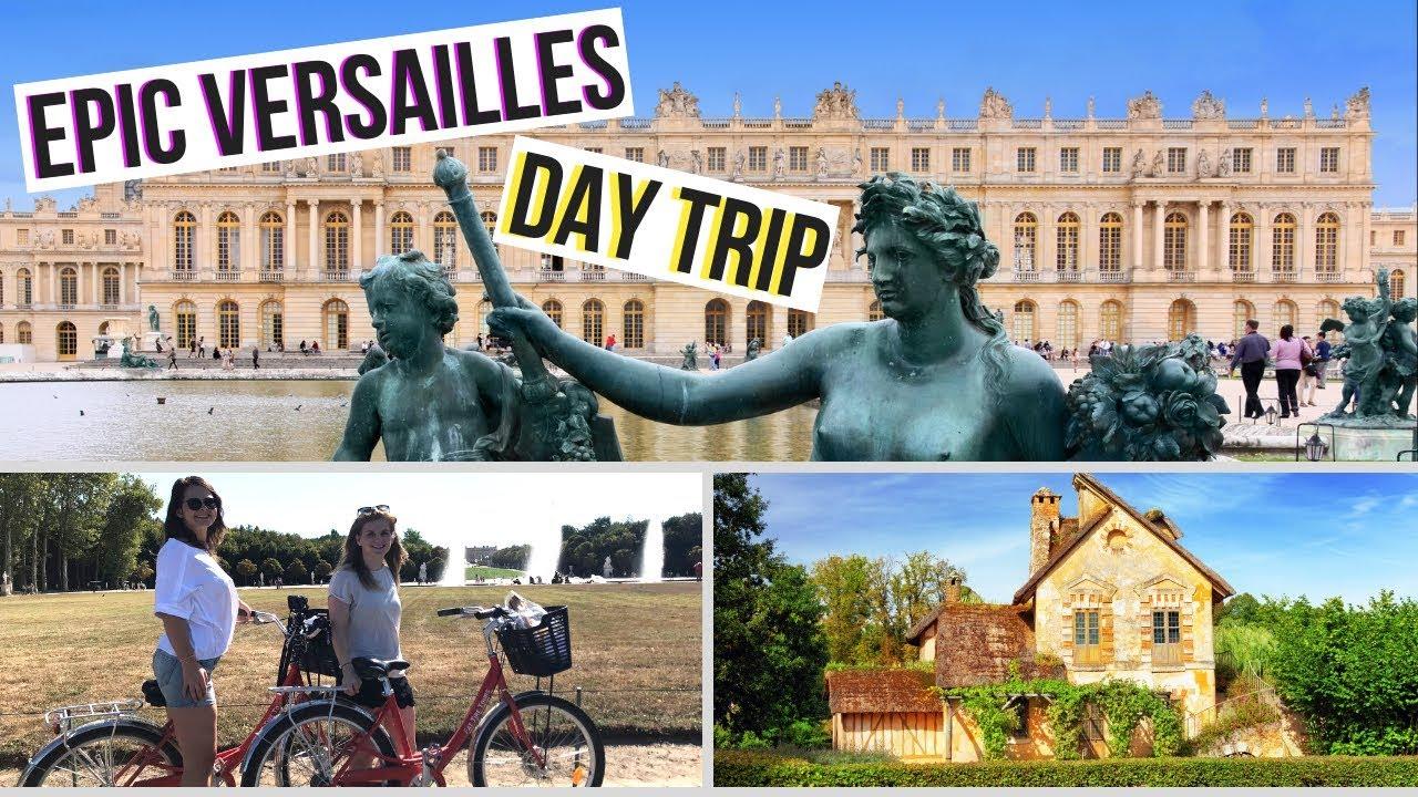 a unique way to visit versailles versailles palace gardens bike tour youtube. Black Bedroom Furniture Sets. Home Design Ideas