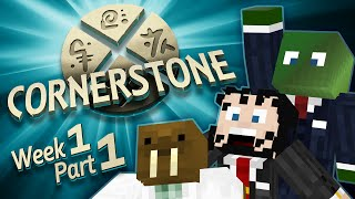 Minecraft Cornerstone - King Sjin (Week 1 Part 1)