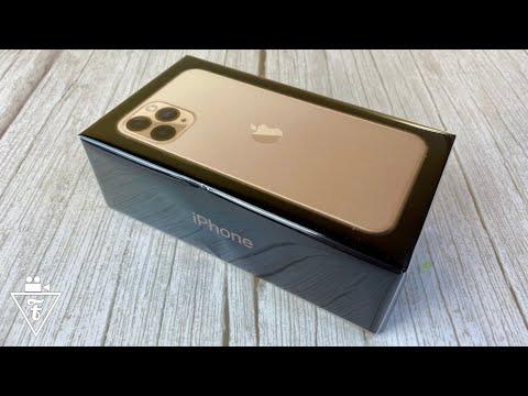 Распаковка IPhone 11 Pro и первое впечатление