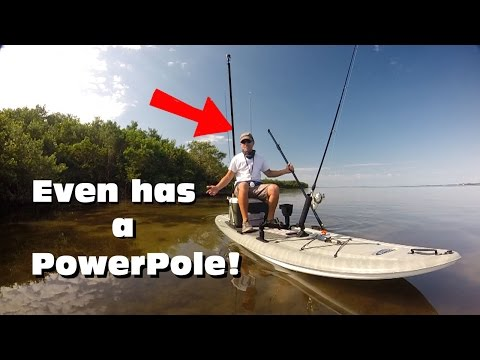 Perfect Flats Fishing Paddleboard Rigging: Flow 116 Angler SUP