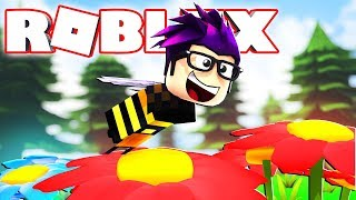 BECOMING A BEE IN ROBLOX??? (Bee Swarm Simulator)