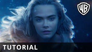 Pan – Mermaid Make Up Tutorial - Hannah Leigh - Official Warner Bros. UK