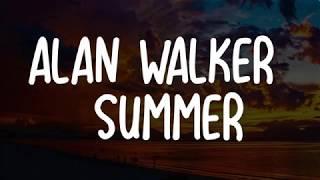 Alan Walker Summer LYRICS.mp3