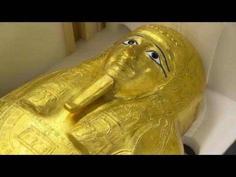 بعد سرقته في 2011 ... مصر تستعيد -التابوت الذهبي للكاهن- من الولايات المتحدة …