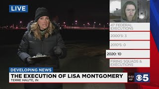 Plans For The Execution Of Lisa Montgomery Proceeding