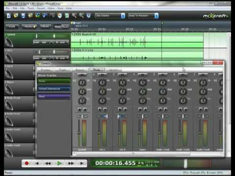 Recording Live Instruments Part 3 - Drums :: Mixcraft