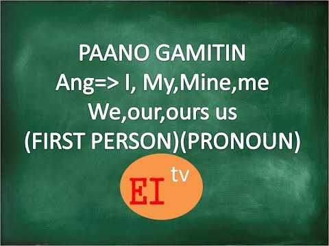 #English Lesson Translated Into Tagalog