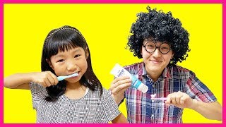 This Is The Way Song | Pretend Play Morning School Routine Nursery Rhymes Song 子供のうた 英語 童謡 朝のしたく ごっこ