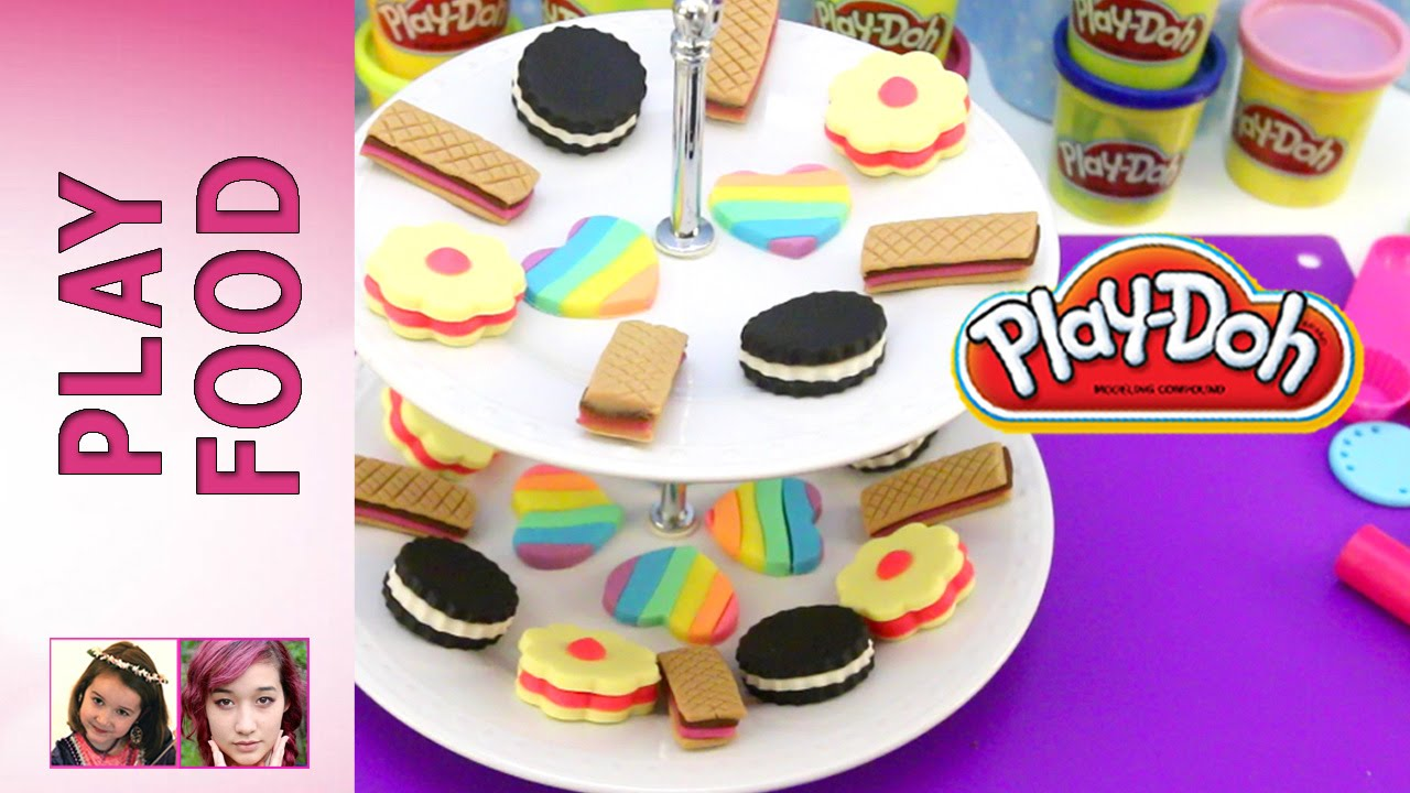 Play doh food part 4 play doh cookies youtube for Play doh cuisine