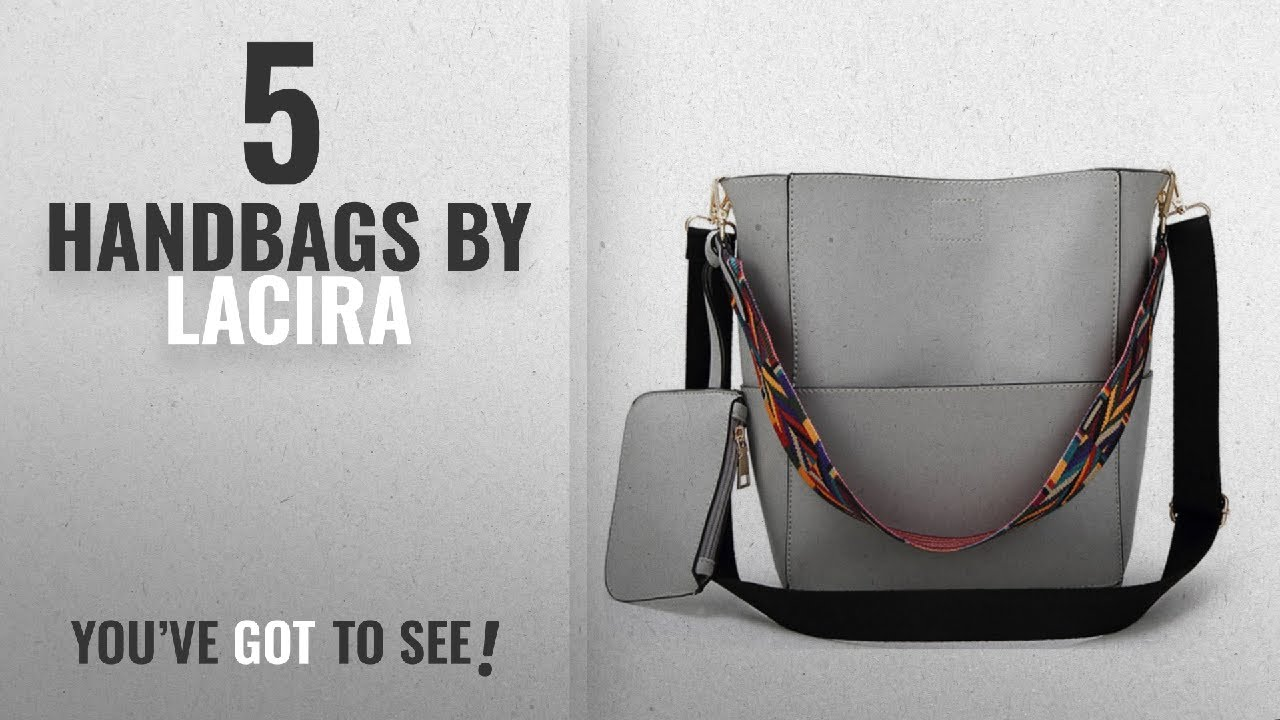 Top 10 Lacira Handbags  2018   LACIRA Women s Handbag(Ba031Gry,Grey ... 38e5f844dc