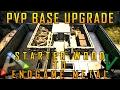 Starter Wood To Endgame Metal! | PVP Base Upgrade | Build Guide | Ark: Survival Evolved