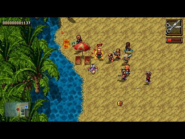 Shakedown Hawaii PC gameplay - Need a haircut?