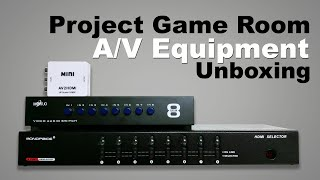 Project Game Room - Tech Stripping | Multi Console AV Equipment