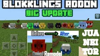 🔵🔴Que estres,Blokklings Addon Updated,New blokklings,New gadgets,Remodel and more🔵🔴