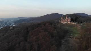 Schloßleuchten auf Schloß Drachenburg