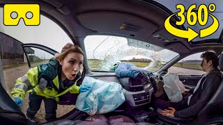 Car Crash Experience – What Is It Like To Be Involved In A Car Accident In 360° Virtual Reality