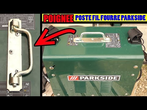 Poste à Fil Fourré PARKSIDE LIDL PFDS 33 J'ai Ajouté Une Poignée...