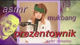 PREZENTOWNIK (wersja asmr, mukbang, asmr roleplay)