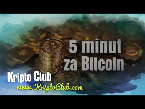 5 Minut Za Bitcoin: Pričakujte Padec