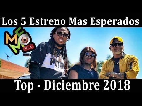 Los 5 Estrenos Mas Esperados De Diciembre 2018 -  Junior Jein, Chaka, Patio 4, Dj Fliyou, Quimbara