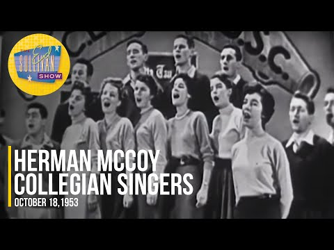 "Herman McCoy Collegian Singers ""My Love, My Love"" on The Ed Sullivan Show"